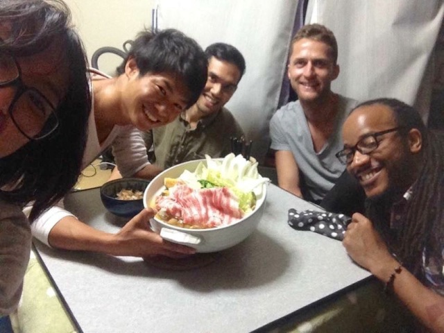 5_japan. Dinner