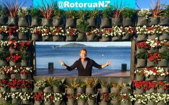 Neuseeland Lake Rotorua Selfie