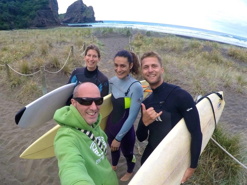 Surfen in Neuseeland – Von Piha über Mangawhai nach Raglan (1/6)