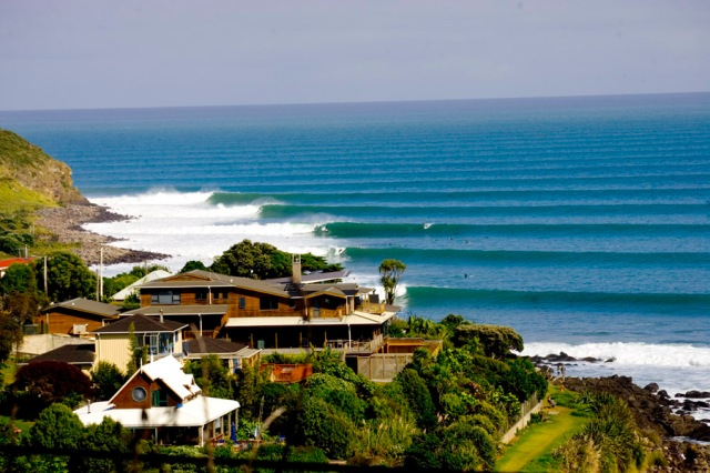Neuseeland Raglan Surf