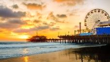LA Santa Monica Pier