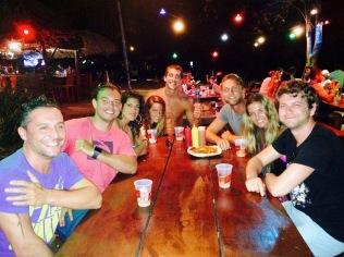 Costa Rica Tamerindo Gruppe